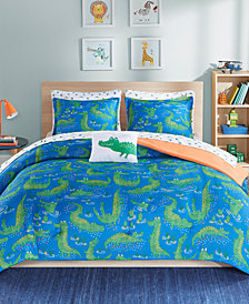 Mi Zone Kids Kyle the Crocodile 8-Pc. Full Comforter Set