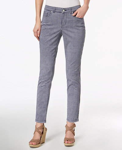 Charter Club Bristol Printed Skinny Ankle Jeans, Created for Macy's