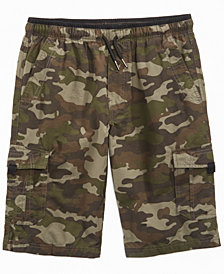 Univibe Camo-Print Scout Shorts, Big Boys