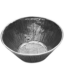 Wilton Armetale Wild Wood Bowl