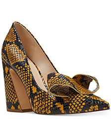 Nine West Haddriana Block-Heel Pumps