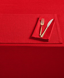 Fiesta Maya Scarlet Table Linen Collection