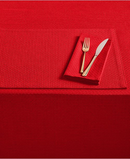 "Fiesta Maya Scarlet 60"" x 120"" Tablecloth"