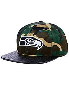 Pro Standard Seattle Seahawks Woodland Strapback Cap