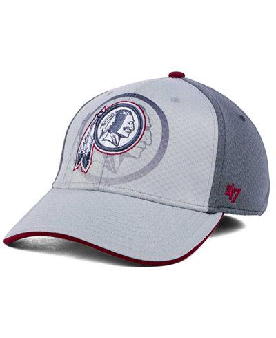 '47 Brand Washington Redskins Greyscale Contender Flex Cap