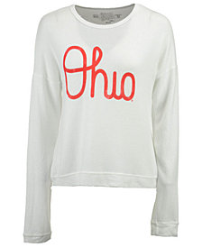 Retro Brand Women's Ohio State Buckeyes Haachi Crew Sweatshirt