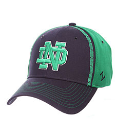 Zephyr Notre Dame Fighting Irish Pattern Pipe Stretch Cap