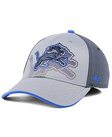 '47 Brand Detroit Lions Greyscale Contender Flex Cap