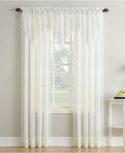 No 918 Crushed Sheer Voile 51 X 63