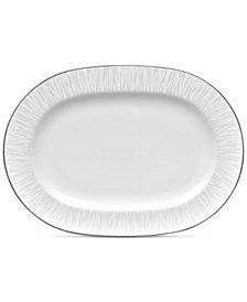 Noritake Glacier Platinum Oval Platter