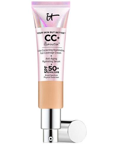 IT Cosmetics Your Skin But Better CC+ Illumination SPF 50+, 1.08 fl. oz.