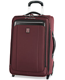 """CLOSEOUT! Travelpro Platinum Magna 2 22"""" Carry On Expandable Suiter Rolling Suitcase"""