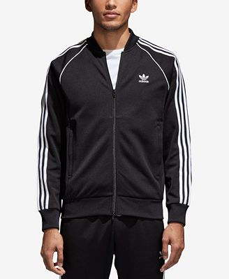 Adidas Men S Superstar Adicolor Track Jacket Hoodies Sweatshirts