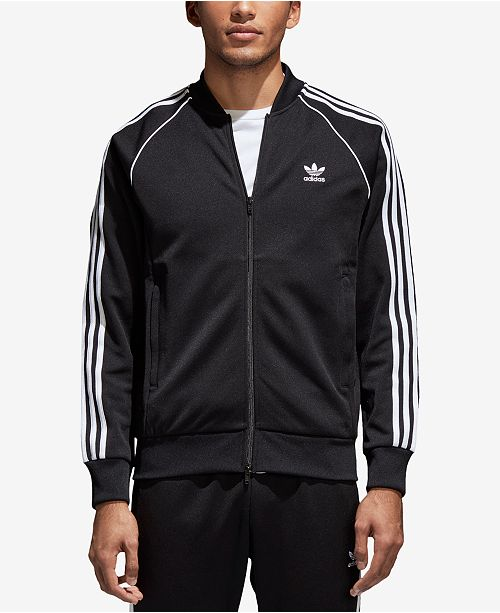 fc53b54a309b adidas Men s Superstar adicolor Track Jacket   Reviews - Hoodies ...