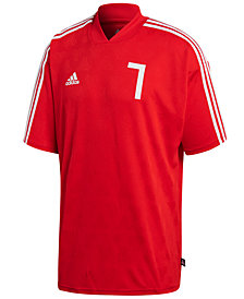 adidas Men's ClimaLite® Jacquard Soccer Shirt, Created for Macy's