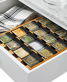 Martha Stewart Collection Cube Spice Rack, Created for Macy's