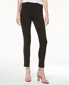 I.N.C. Jacquard Dot Slim Pants, Created for Macy's