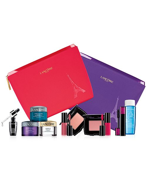 Lancome Choose Your Free 5-7 Piece Gift with any $50 Lancôme Purchase!