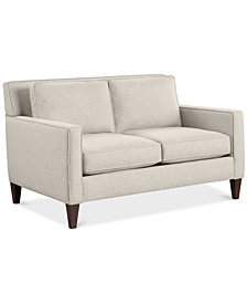 """CLOSEOUT! Kenford 57"""" Fabric Loveseat, Created for Macy's"""