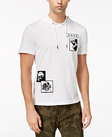 I.N.C. Men's Patch Hooded T-Shirt, Created for Macy's