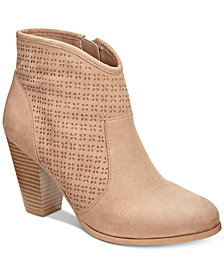 American Rag Aria Perforated Booties, Created for Macy's