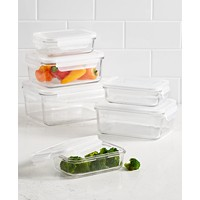 Martha Stewart Collection 12-Pieces Glass Storage Set