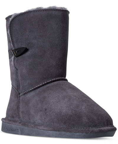 Bearpaw Victorian Boots, Big Girls (3.5-7) & Little Girls (11-3) from Finish Line