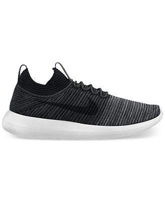 Nike Men's Roshe Two Flyknit V2 Casual Sneakers from Finish Line