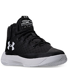 Under Armour Little Boys' Curry 3Zero Basketball Sneakers from Finish Line