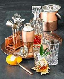 Godinger Glassware and Copper Barware Collection