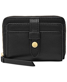 Fiona Leather Zip Wallet