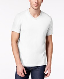 Club Room Men's Performance V-Neck T-Shirt, Created for Macy's