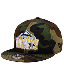 New Era Boys' Denver Nuggets Woodland Team 9FIFTY Snapback Cap
