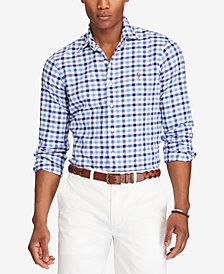 Polo Ralph Lauren Men's Big & Tall Plaid Shirt