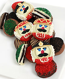 Chocolate Covered Company  12-Pc. Nutcracker Belgian Chocolate-Covered Oreo Cookies