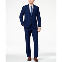 Deals on Kenneth Cole Reaction Mens Ready Flex Slim-Fit Stretch Modern Solid Suit