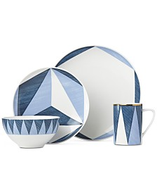 Lenox Luca Triangoli 4-Pc. Place Setting