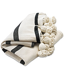 Lucky Brand Moroccan Pom Throw