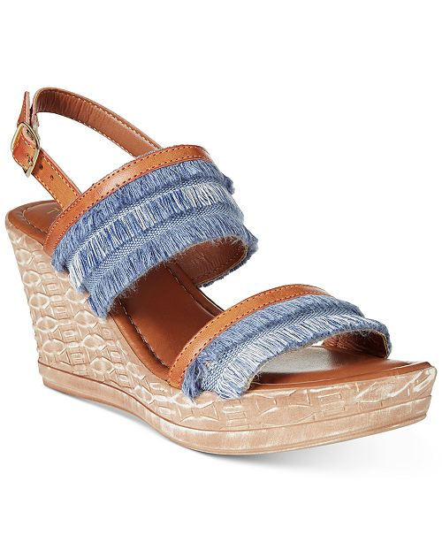 Tuscany by Easy Street Zaira ... Women's Wedge Sandals RxtGriIKMe