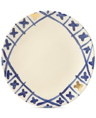 Lenox-Wainwright Pompeii Blu Land Dinner Plate