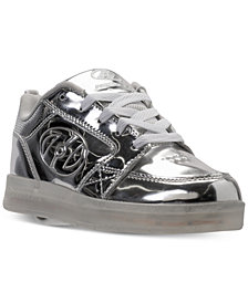 Heelys Boys' Premium 1 Lo Light-Up Skate Casual Sneakers from Finish Line