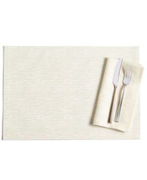 Bardwil Continental 13 x 19 Cream Placemat