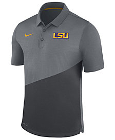 Nike Men's LSU Tigers Stadium Performance Polo