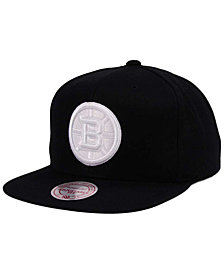 Mitchell & Ness Boston Bruins Respect Snapback Cap
