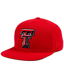 Top of the World Texas Tech Red Raiders Extra Logo Snapback Cap