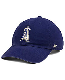 '47 Brand Los Angeles Angels Timber Blue CLEAN UP Cap