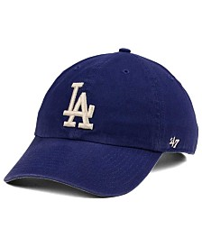 '47 Brand Los Angeles Dodgers Timber Blue CLEAN UP Cap