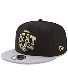 New Era Miami Heat Gold Mark 9FIFTY Snapback Cap