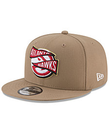 New Era Atlanta Hawks Team Banner 9FIFTY Snapback Cap