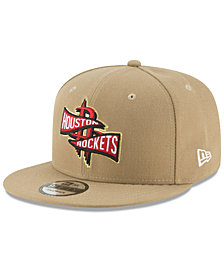 New Era Houston Rockets Team Banner 9FIFTY Snapback Cap